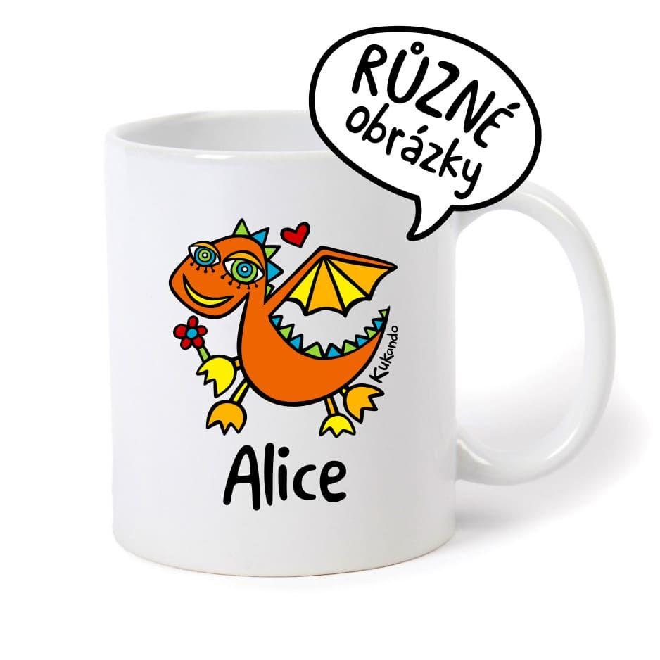keramický hrnek se jménem Alice