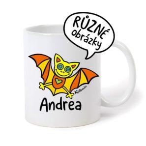 keramický hrnek se jménem Andrea
