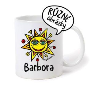 keramický hrnek se jménem Barbora