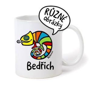 keramický hrnek se jménem Bedřich