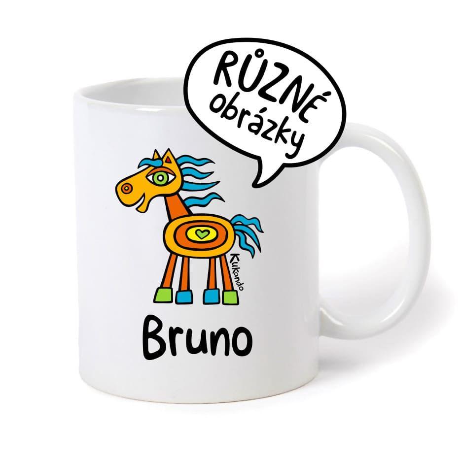 keramický hrnek se jménem Bruno