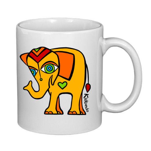 originální dětský hrnek se slonem