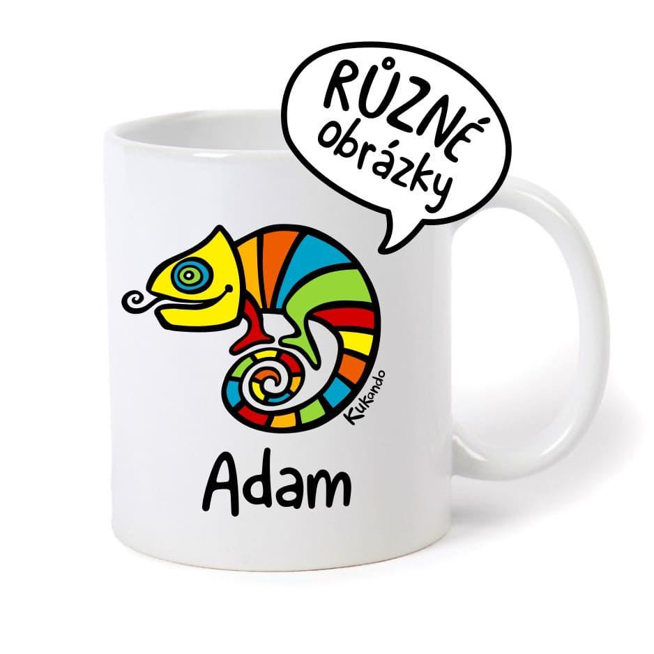 keramický hrnek se jménem Adam