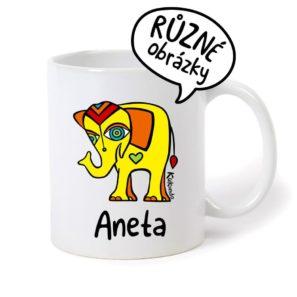 keramický hrnek se jménem Aneta