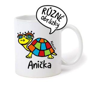 keramický hrnek se jménem Anička