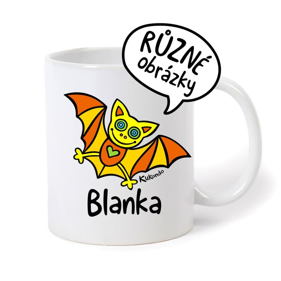 keramický hrnek se jménem Blanka