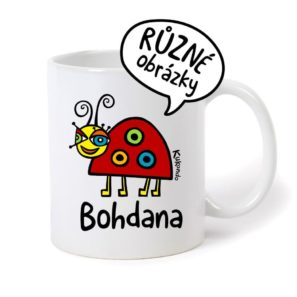 keramický hrnek se jménem Bohdana