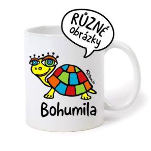 keramický hrnek se jménem Bohumila